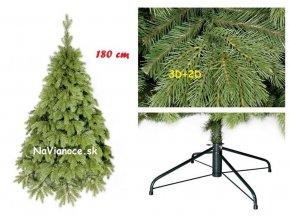 vianočný stromček borovica 100% 3d