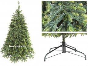 vianočný stromček 3d ako živý