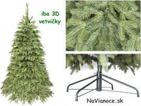 veľký vianočný stromček na Vianoce