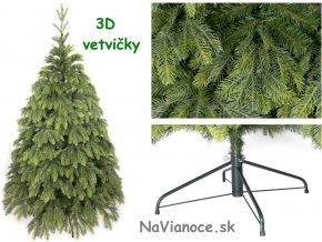jedľový vianočný stromček