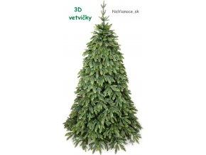 vianočný 3d stromček umelý
