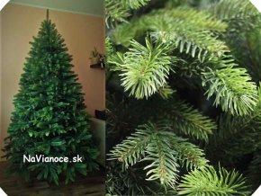 umeý vianočný stromček hustý vysoký