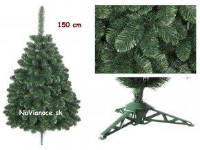 umelý vianočný stromček borovica 150 cm