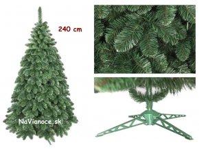 vysoký vianočný stromček borovica klasik