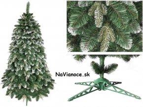 snehový 3d vianočný stromček