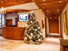 ozdobeny vianocny stromcek