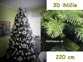 kvalitny moderny ozdobeny vianocny stromcek