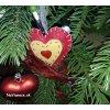 elegantny realny vianocny stromcek