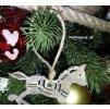 elegantny siroky vianocny stromcek