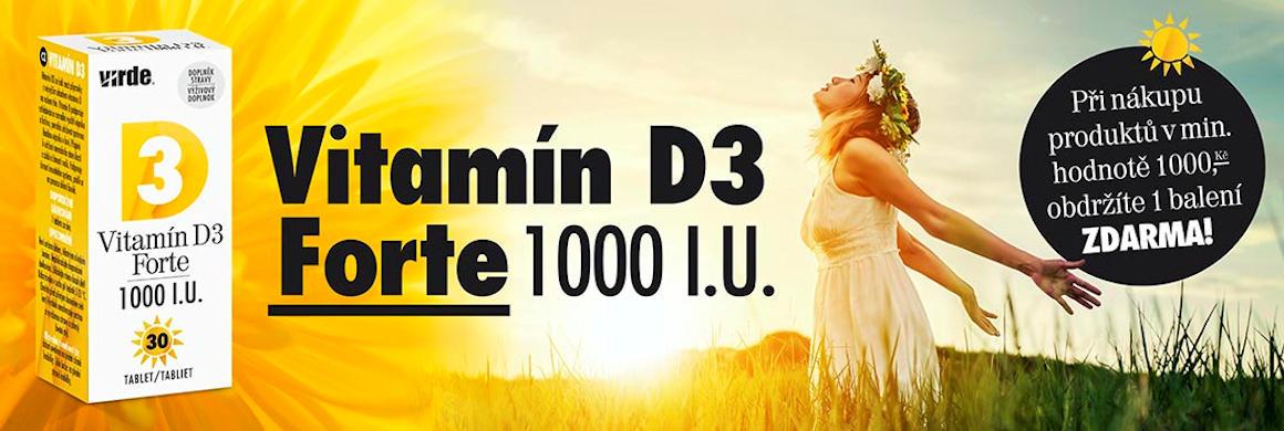 Vitamín D3 forte