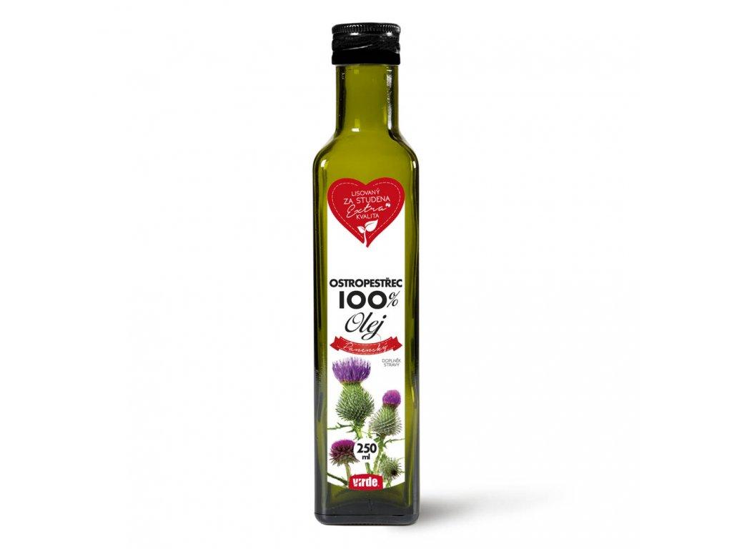 Ostropestřec 100% olej 250 ml