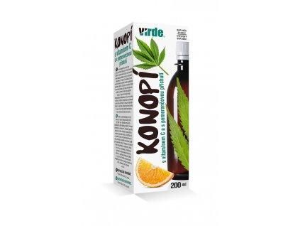 Konopí s vitamínem C