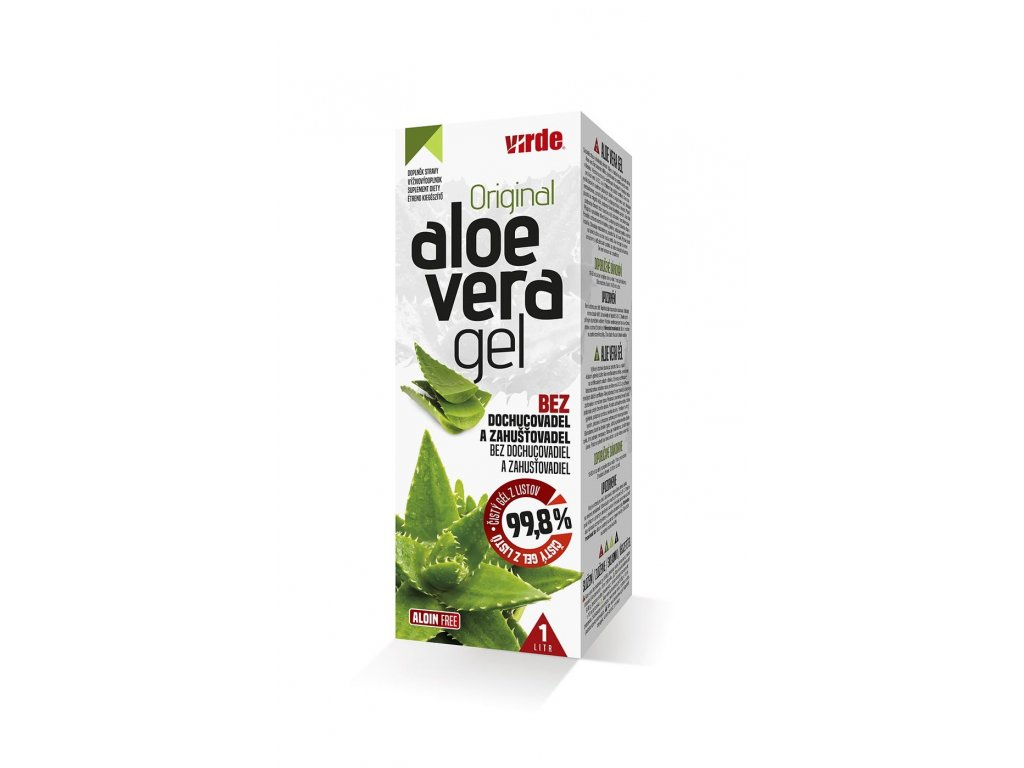 Aloe vera gél 1 l