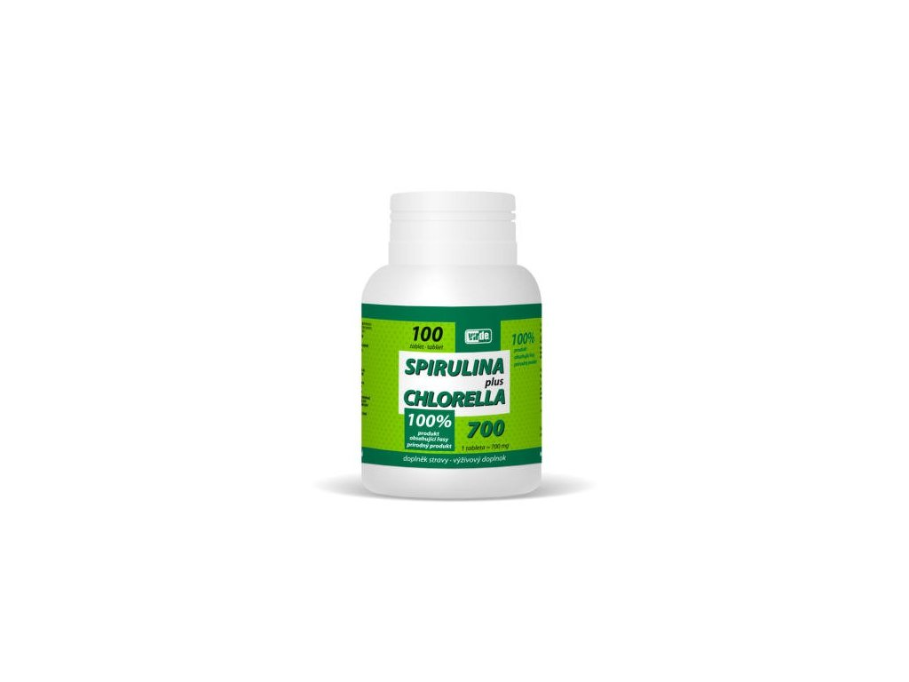 Spirulina Plus Chlorella 100 tabliet