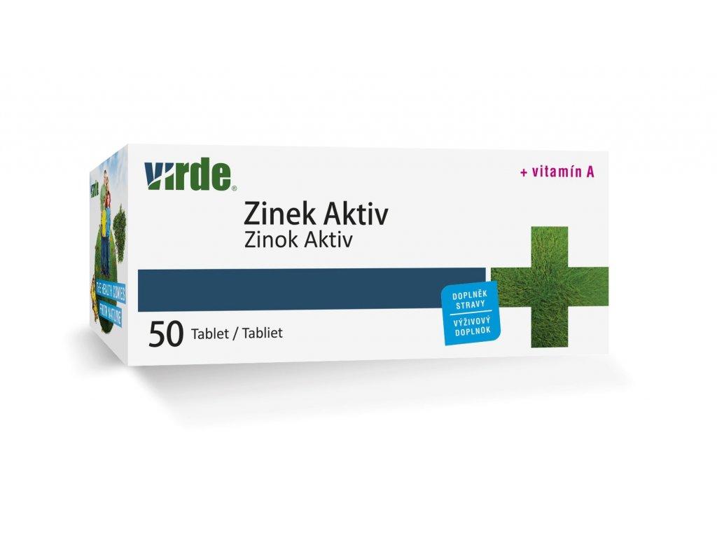 Zinok Aktiv 50 tabliet