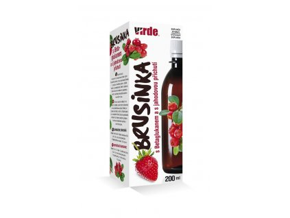 Brusnica s betaglukanom 200 ml