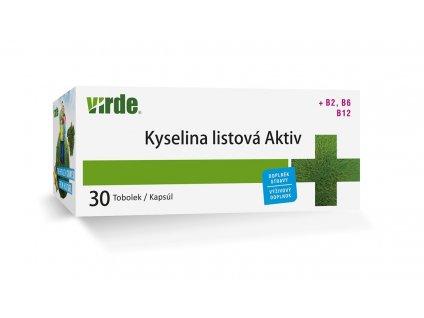 Kyselina listová Aktiv 30 toboliek