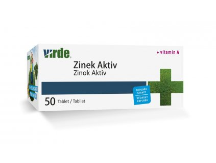 Zinok Aktiv 50 tabliet