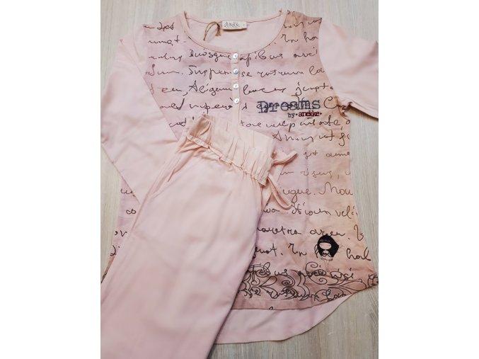 anekke pyžamo dreams pink woman 2