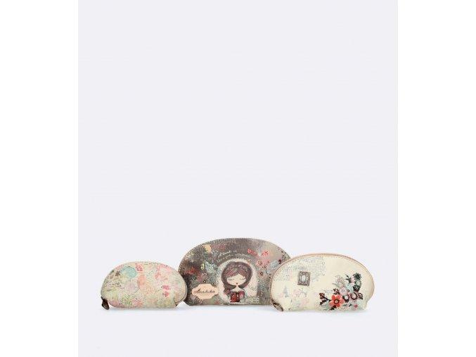 Anekke Jane - Kozmetické tašky 3v1