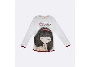 Anekke Patchwork - Dievčenské tričko s dlhým rukávom