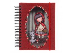 Santoro Gorjuss - Little Red Riding Hood - Organizér