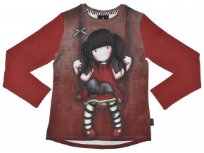 Santoro Gorjuss - Ruby - Dievčenské tričko s dlhým rukávom