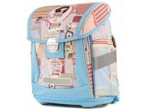 Anekke Patchwork - Ergonomická školská taška