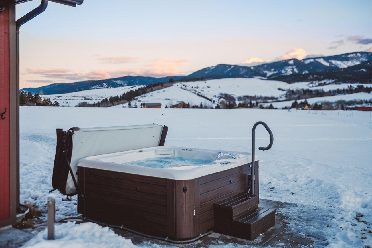 Vířivé bazény pro dlouhé zimní večery