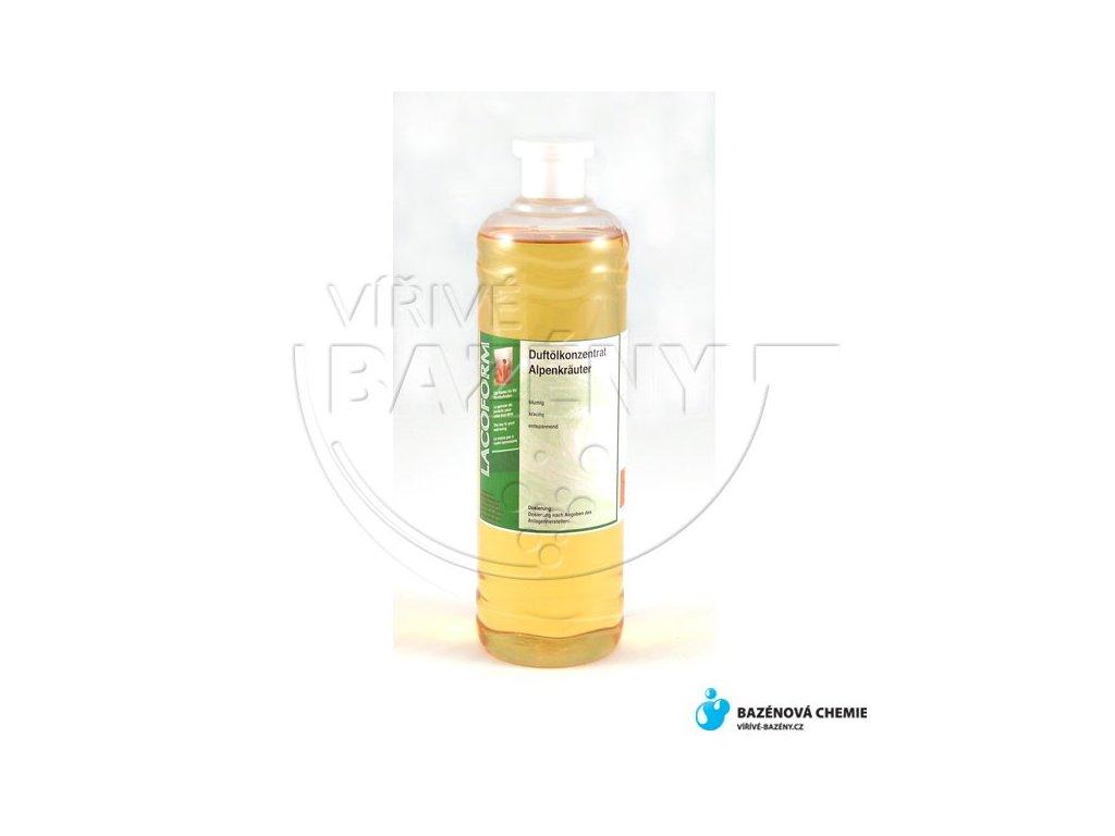 Prostorová aromata Alpské byliny