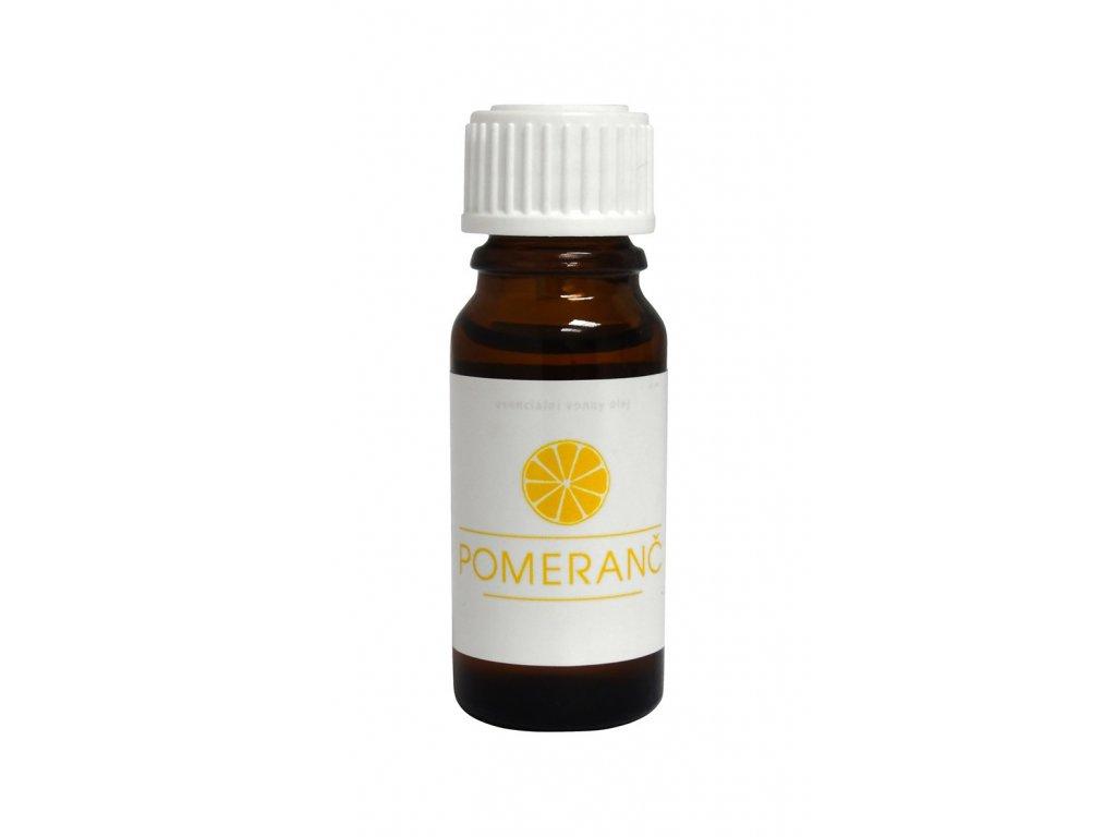 Esenciální vonný olej do infrasauny - Pomeranč 10 ml