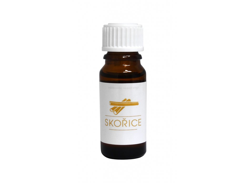 Esenciální vonný olej do infrasauny - Skořice 10 ml