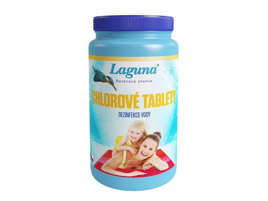 Laguna chlorové tablety