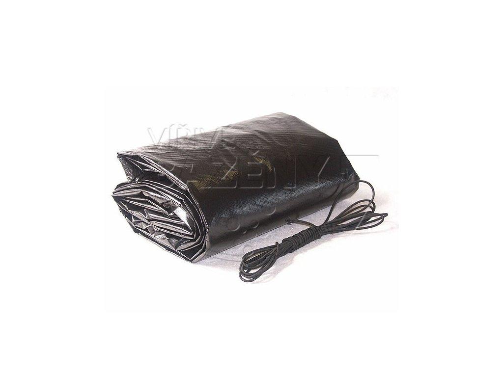 Krycí plachta na bazén - 140g/m2  černá na přání