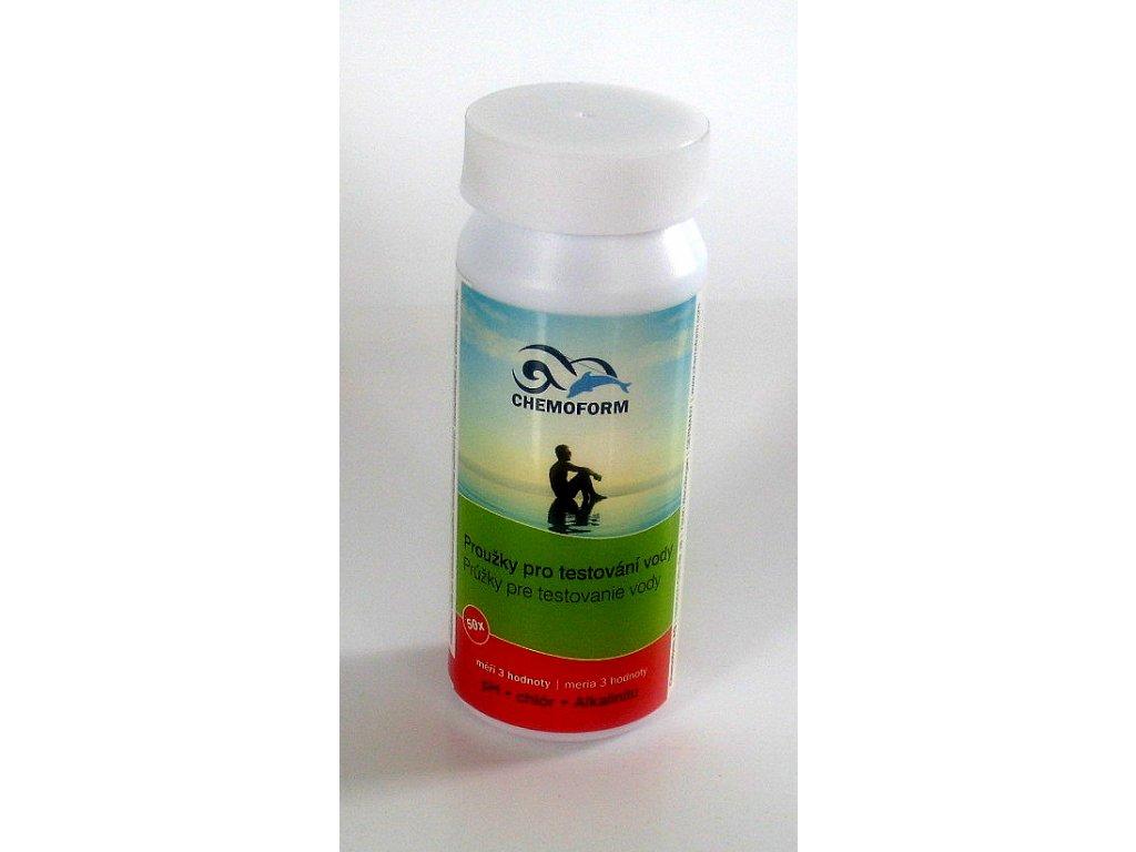 502010803 Tester prouzky ph chlor alkalinita