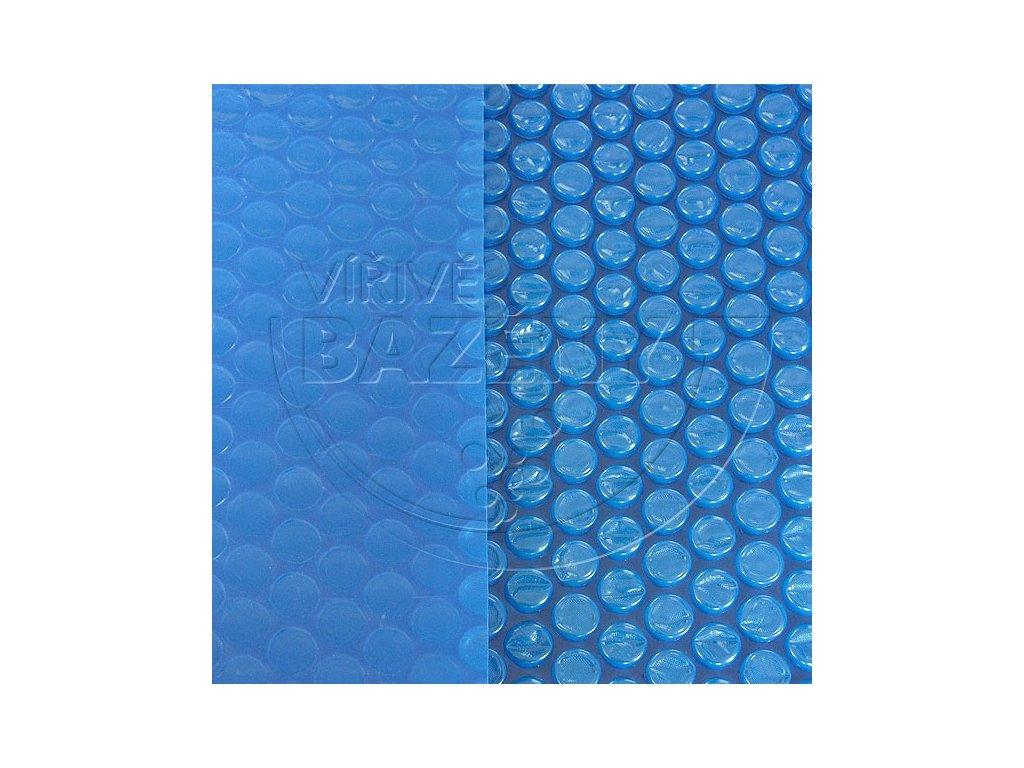 Solární plachta na bazén modrá 180 mic - rozměr na přání