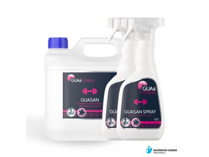 GUASAN MEDIUM SET -  GUASAN FITNESS 3lt + 2x 0,5 lt Spray