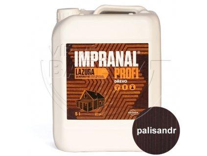 Impranal Profi - lazurovací lak na dřevo silnovrstvý - palisandr 5 lt