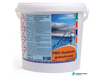 Vločkovač granulovaný 5kg PWS