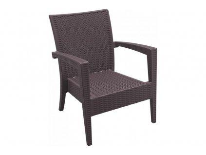 441722 kreslo miami lounge siesta exclusive zahradni nabytek