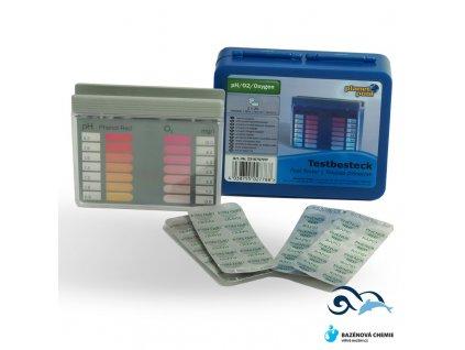 Bazénový tester pH a O2 (OXI)