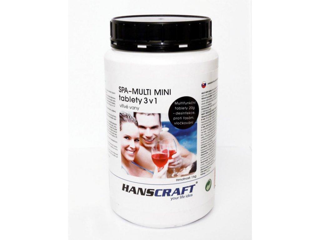 Chemie pro virivky Hanscraft MULTI MINI tablety 3v1