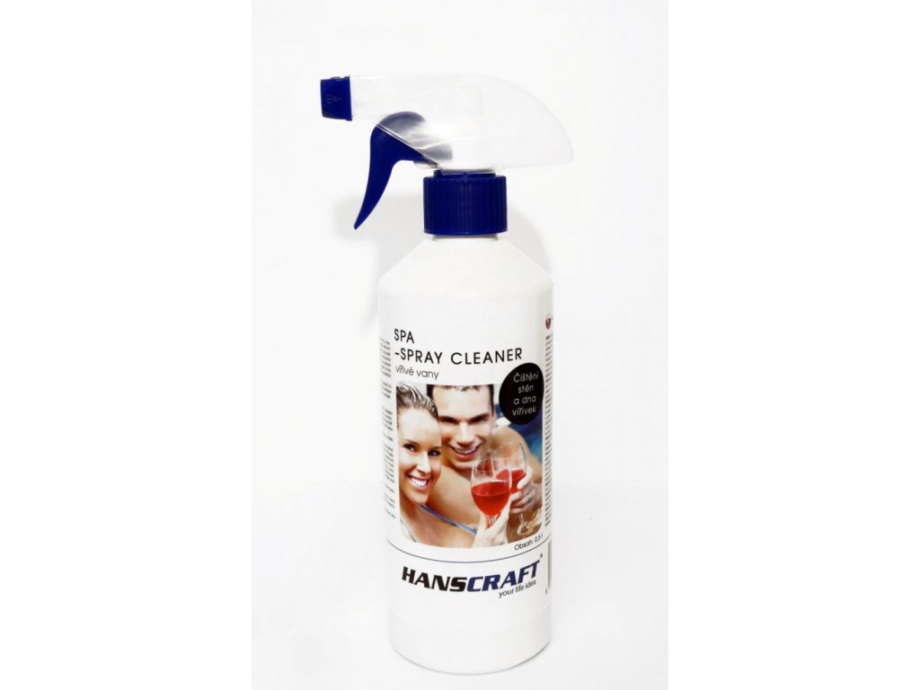 Chemie pro virivky Hanscraft Spray cleaner