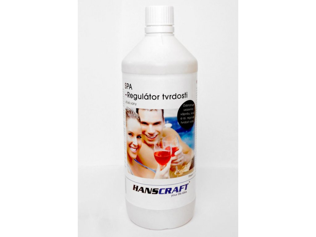Chemie pro virivky Hanscraft Regulator tvrdosti