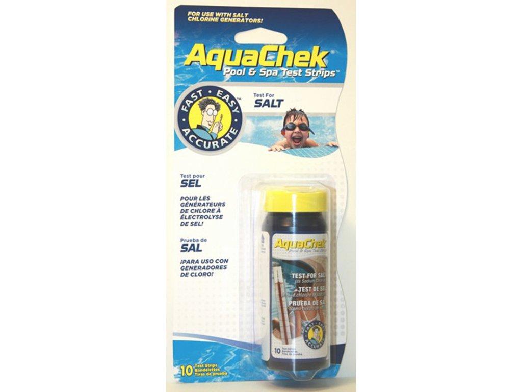AquaChek testovaci prouzky tester soli