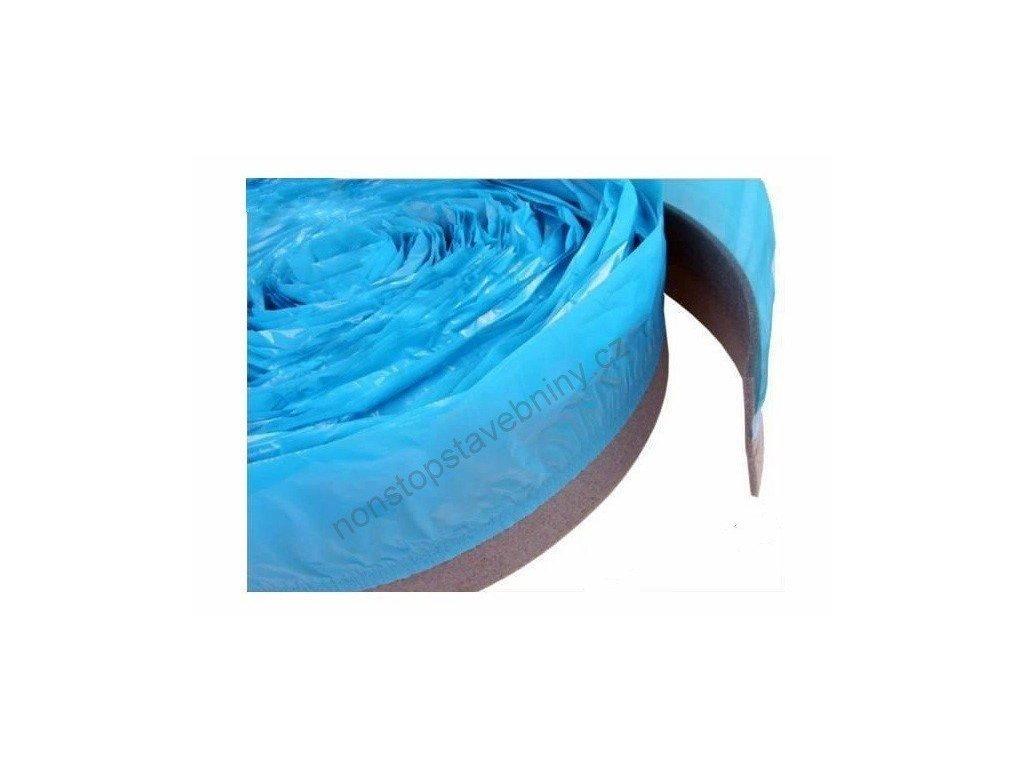 Okrajový pásek s fólií 5 x 100 mm MIRELON pás 50m