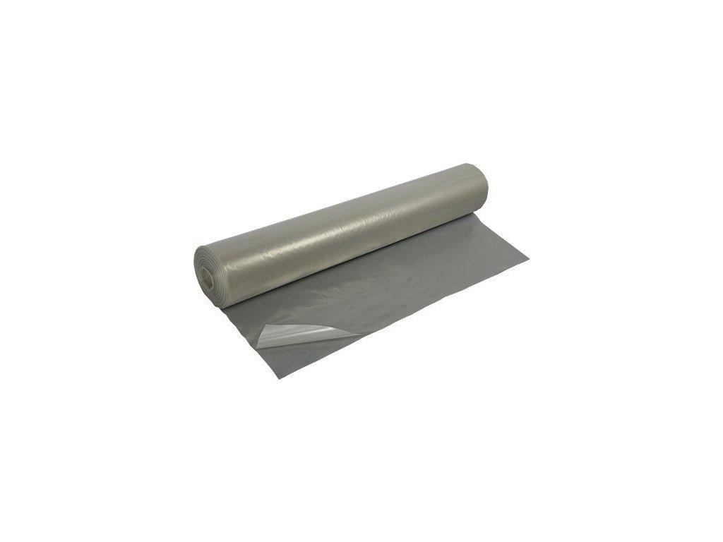 Stavební fólie separační 2x50m polohadice polorukáv LDPE (200mikronů)