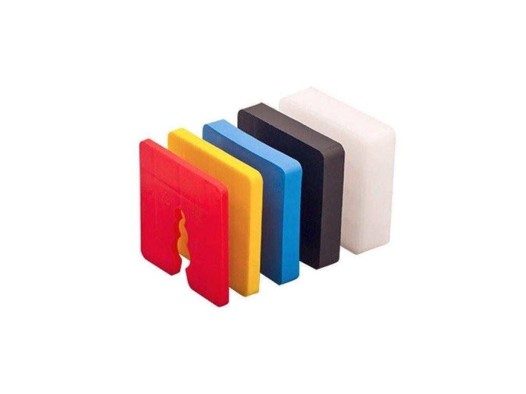 Vyrovnávací podložky pod zakládací soklové lišty 10mm (50ks)