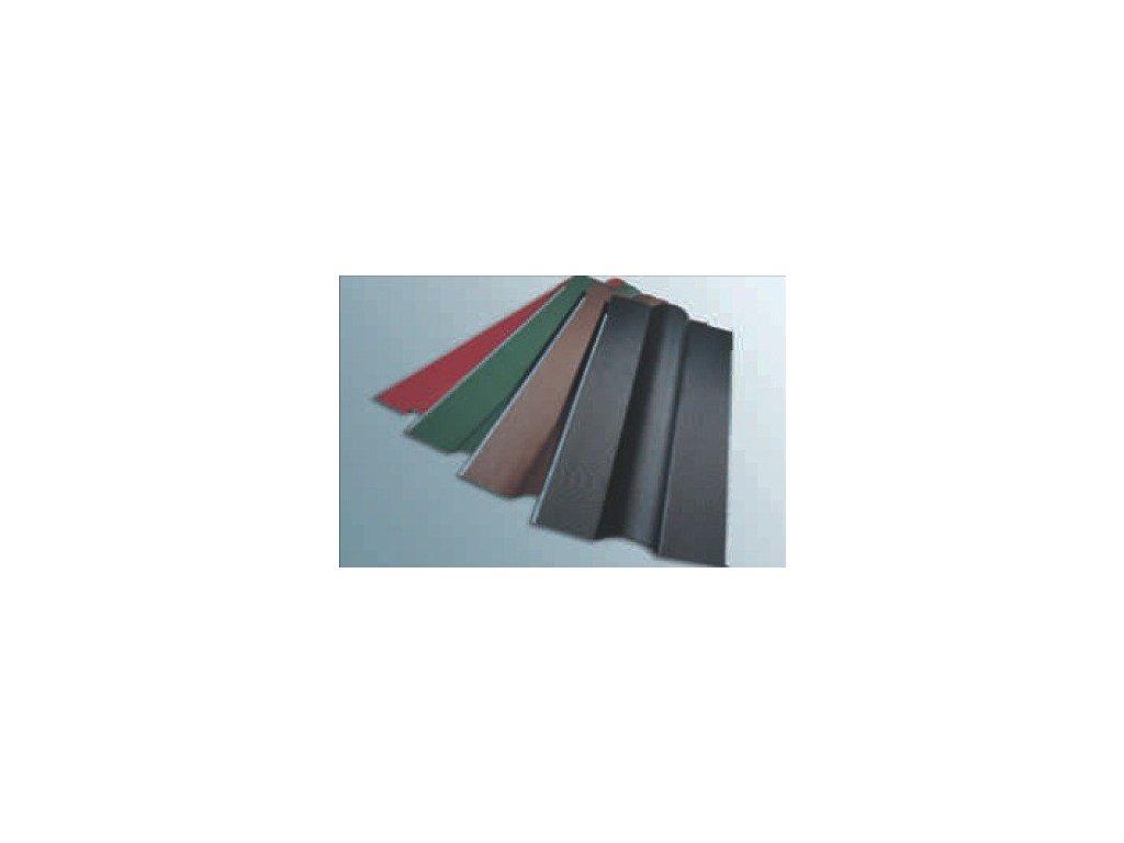 Střešní hřebenáč zelený 1050 mm pro bitumenové desky
