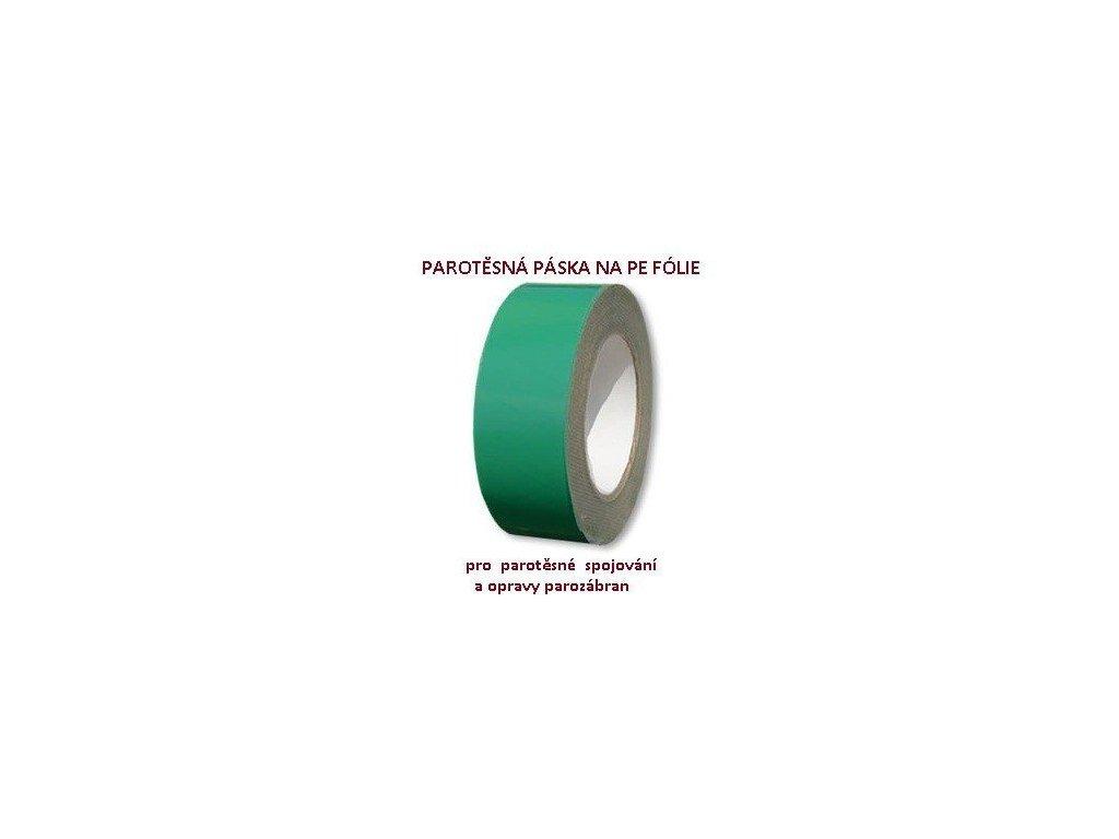 Parotěsná páska PROFI zelená na parotěsné fólie (š.50mm / d. 25m)